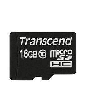 Transcend 16GB MicroSDHC Class 10 Memory Card Price in India