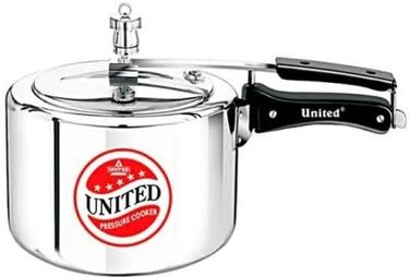 United Aluminium 2.5 L Pressure Cooker (Inner Lid) Price in India