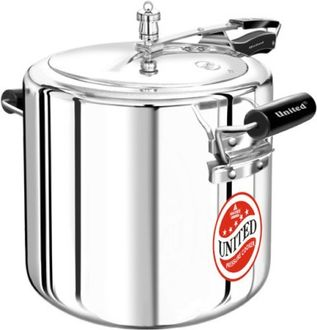United Aluminium 22 L Pressure Cooker (Inner Lid) Price in India