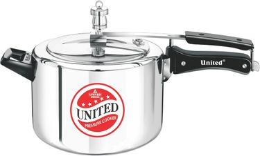 United Aluminium 6.5 L Pressure Cooker (Inner Lid) Price in India