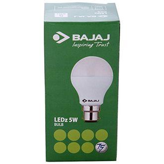 Bajaj 5 Watt LED Bulb (White) Price in India
