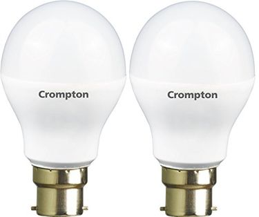 Crompton Greaves 5W and 7W B22 LED Bulb (Cool Day Light, Pack of 2) Price in India