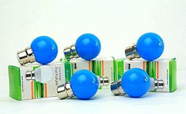 Noveulux 0.5W LED Bulb (Blue, Pack of 5) Price in India