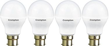 Crompton 9WDF B22 9-Watt LED Lamp (Cool Day Light, Pack of 4) Price in India