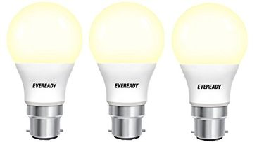 Eveready 5W LED Bulb (Golden Yellow, Pack Of 3) Price in India