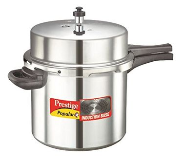 Prestige Popular Plus Aluminium 12 L Pressure Cooker (Induction Bottom, Outer Lid) Price in India