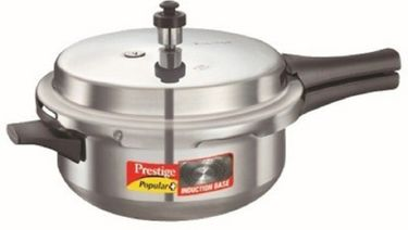 Prestige Popular Plus Aluminium 2 L Pressure Cooker (Induction Bottom, Outer Lid) Price in India