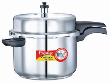Prestige Deluxe Alpha Stainless Steel 8 L Pressure Cooker (Induction Bottom, Outer Lid) Price in India