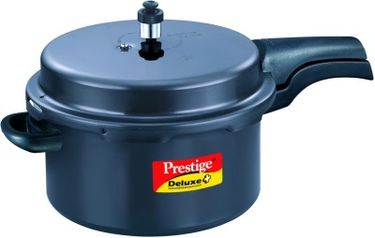Prestige Deluxe Plus Aluminium 7.5 L Pressure Cooker (Outer Lid) Price in India