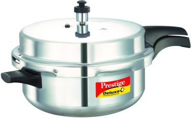 Prestige Deluxe Plus Senior Alunminium 5 L Pressure Cooker (Induction Bottom, Outer Lid) Price in India