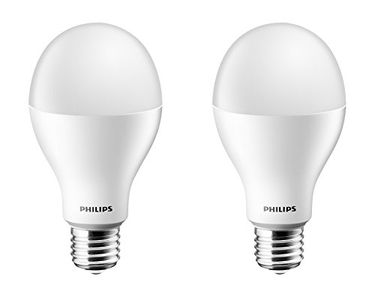 Philips 17W E27 2000L LED Bulb (Cool Day Light, Pack of 2) Price in India