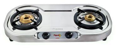 Pigeon Elegance 2110 DT DX 2 Burner Gas Cooktop Price in India