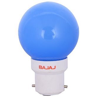 Bajaj 0.5W B22 LED Bulb (Blue) Price in India