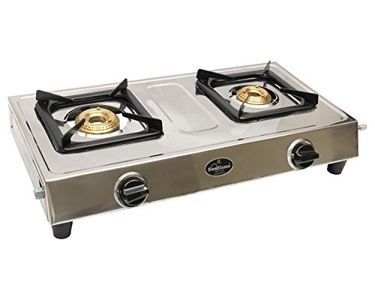 Sunflame Style DX SS 2 Burner Gas Cooktop Price in India
