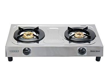 Usha Maxus GS2 001 2 Burner Gas Cooktop Price in India