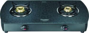 Prestige Premia GTS 02 (D) AL 2 Burner Gas Cooktop Price in India