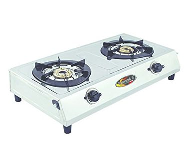 Sunshine OS-2 2 Burner SS Gas Cooktop Price in India