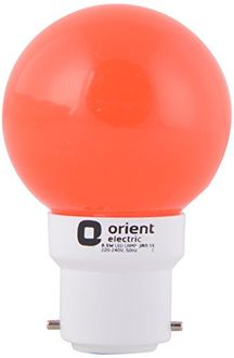 Orient 0.5 W Eternal Deco Shine LED Lamp (Red) Price in India