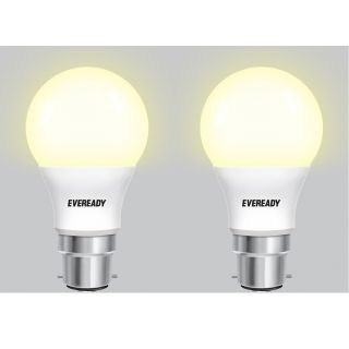 Eveready 5W B22 LED Bulb (Golden Yellow, Pack Of 2) Price in India