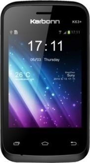 Karbonn K63 Plus Price in India