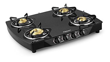 Sunflame Crystal Plus 4 Burner Gas Cooktop Price in India