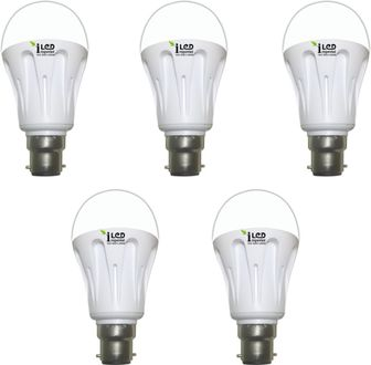 Imperial 4W-WW-BC22-3555 LED Premium Bulb (Yellow, Pack of 5) Price in India