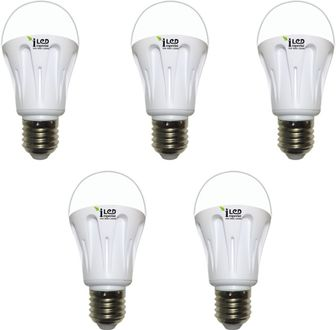Imperial 6W-WW-E27-3557 LED Premium Bulb (Yellow, Pack of 5) Price in India