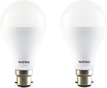 Wipro 14W 1400L LED Bulb (White, Pack of 2) Price in India