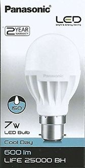 Panasonic 7W LED Bulb (Cool Day White) Price in India