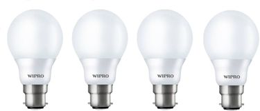 Wipro Garnet 7W LED Bulb (White, Pack of 4) Price in India