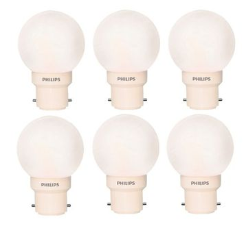 Philips Deco Mini 0.5W Pink LED Bulb (Pack of 6) Price in India