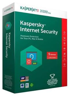 Kaspersky Internet Security 2016 5 PC 1Year Price in India