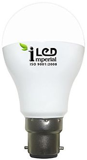 Imperial BC22-3633 12W Metal Body LED Bulb (Warm White, Pack of 10) Price in India