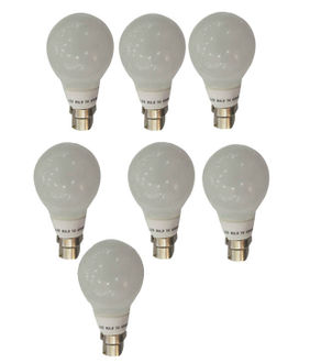 Syska 3W Glass Body LED Bulb (White, Pack of 7) Price in India