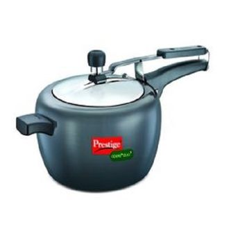 Prestige 20427 Apple Duo Plus Hard Anodised 5 L Pressure Cooker (Induction Bottom,Inner Lid) Price in India