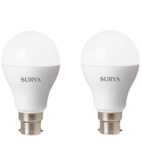 Surya Neo B22D 14W LED Bulb (White, Pack of 2) Price in India