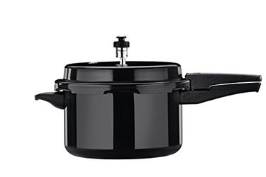 Butterfly C2062A00000 Hard Anodized  5 L Aluminium Pressure Cooker Price in India