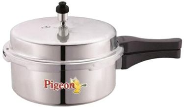 Pigeon Deluxe Aluminium 2 L Pressure Cooker Price in India