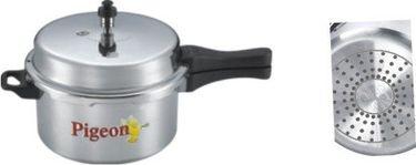 Pigeon 118 Calida Aluminium 7.5 L Pressure Cooker (Induction Base) Price in India