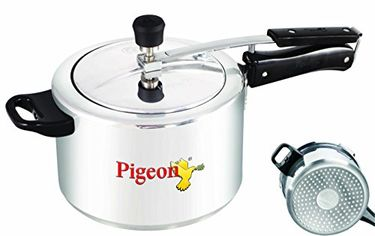 Pigeon 146 CaIida Aluminium 3 L Pressure Cooker (Induction Base) Price in India