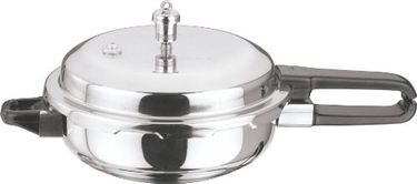 Vinod Induction Friendly Stainless Steel Sandwich Bottom  24.5cm Pressure Pan Price in India