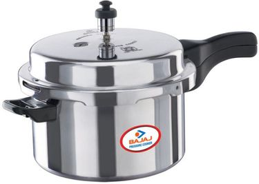 Bajaj PCX 3 Majesty Aluminium 3 L Pressure Cooker (Outer Lid) Price in India