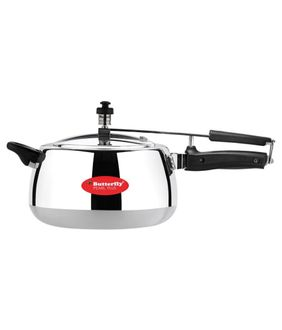 Butterfly Pearl Plus Aluminium 5 L Pressure Cooker (Induction Based) Price in India