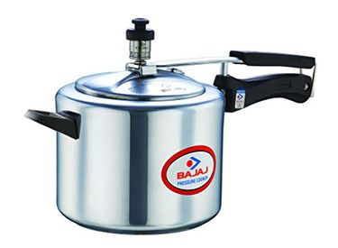 Bajaj PCX45 Majesty Duo Aluminium 5 L Pressure Cooker Price in India