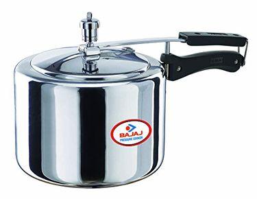 Bajaj PCX 33 Aluminium 3 L Pressure Cooker (Inner Lid) Price in India