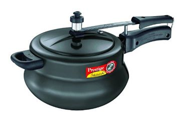 Prestige Nakshatra Plus Hard Anodised Handi 5 L Pressure Cooker (Inner Lid) Price in India