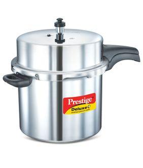 Prestige Deluxe Plus Aluminiunm 12 L Pressure Cooker (Outer Lid) Price in India
