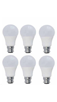Syska 7W PAG LED Bulb (White, Pack of 6) Price in India