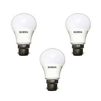 Surya Neo 7W B22 LED Bulb (White, Pack Of 3) Price in India