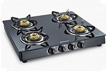 Sunflame Crystal 4 Burner Gas Cooktop Price in India